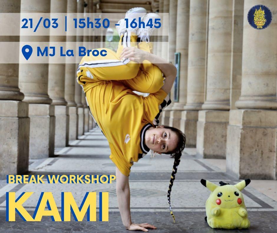 Break workshop avec Kami