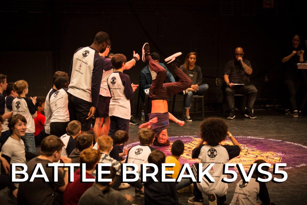 Battle break hiphopa6000 battle 5vs5